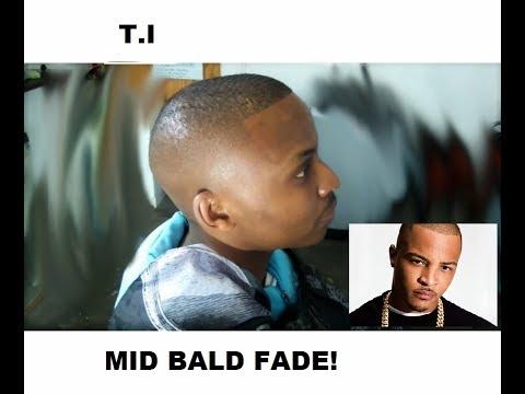 T.I BALD FADE   BARBER TUTORIAL   JNRUSS4   SOUTH AFRICA   HD!!