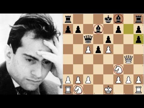 Mikhail Tal's Two knights vs Botvinnik's Two Bishops || World chess championship 1961