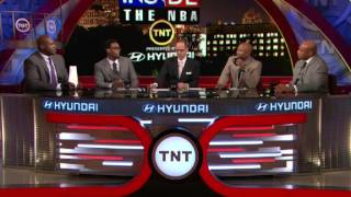 Inside the NBA Kenny and Charles taunt Shaq about not being Superman anymore