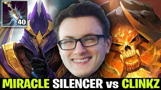 Miracle Silencer 40 Stolen Int vs Clinkz - Having Fun in Party Game