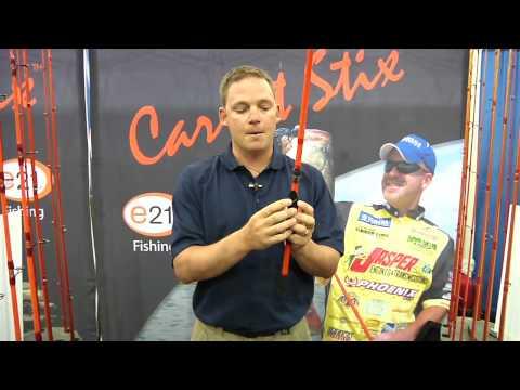 ICAST 2010 - New E21 Carrot Stix Professional Grade Rods
