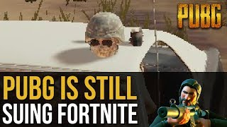 PUBG News | PUBG STILL SUING FORTNITE