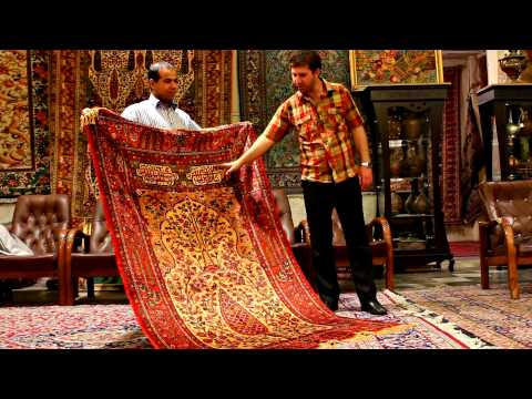 Persian Carpets in Isfahan - Tea Mage Goes to Iran