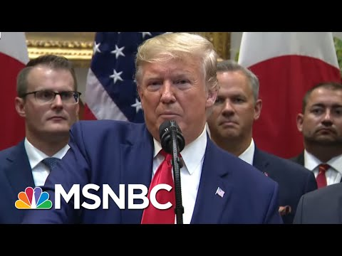 Multiple Polls Show Support Building For Trump Impeachment Inquiry | The 11th Hour | MSNBC