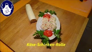 Käse-Schinken-Rolle  einfach lecker