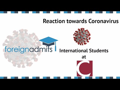 How Coronavirus Will Impact on InternationalStudents? Ep15 (Concordia University) [ForeignAdmits]