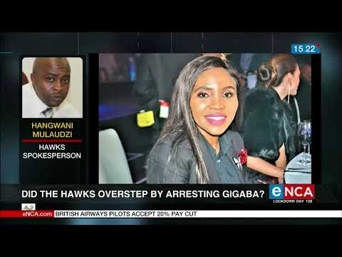 Did the Hawks overstep by arresting Gigaba?