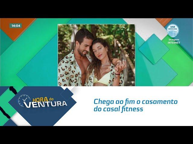 Chega ao fim o casamento do casal fitness Gabriela Pugliesi e Erasmo Viana