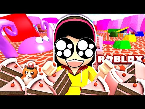 They Won't Let Me GO!! - Roblox Candy Land Obby - DOLLASTIC PLAYS!