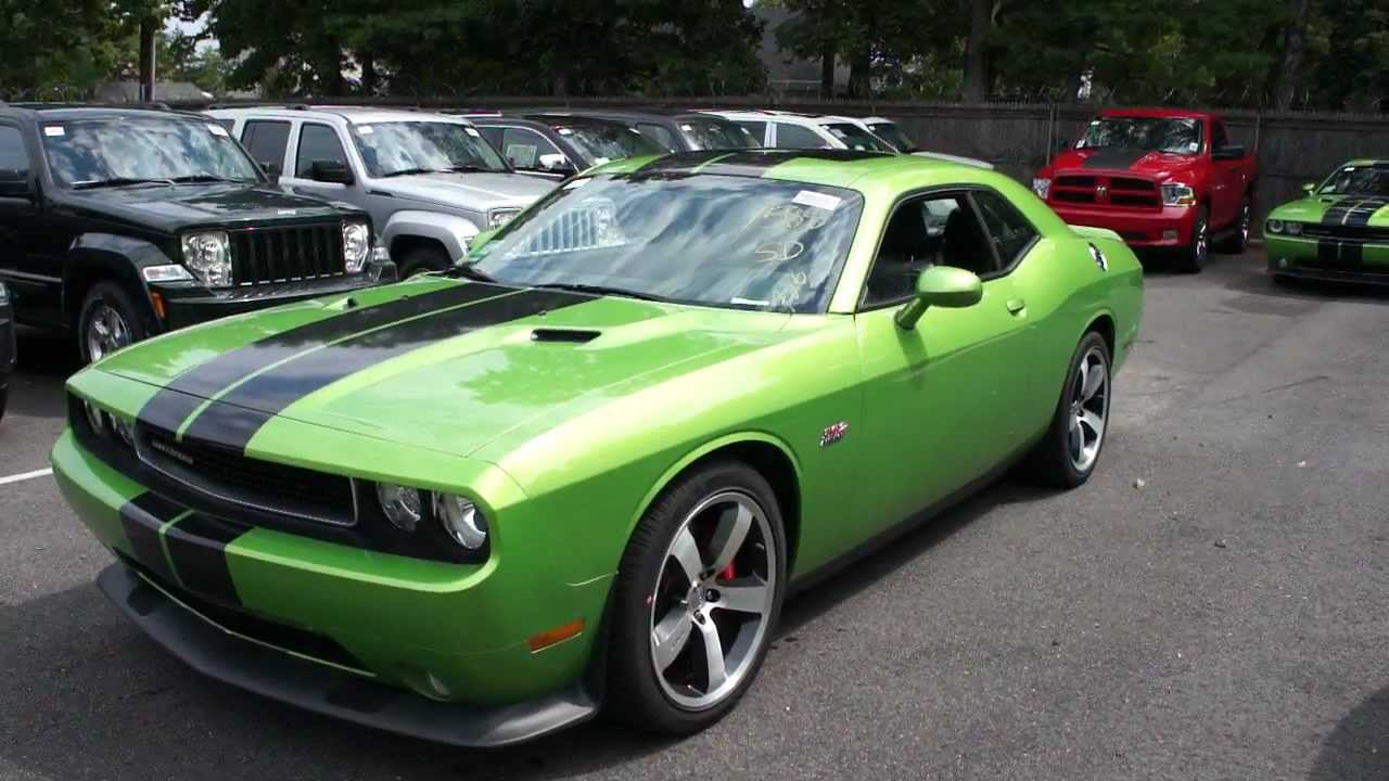 2011 Dodge Challenger 392 Envy With Green For Sale Loaded