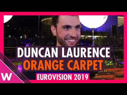 Duncan Laurence (The Netherlands) @ Eurovision 2019 Red / Orange Carpet Opening Ceremony