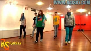 DnB STEP - OnLine урок от Насти и Дани - Школа танцев RAISKY.mp4