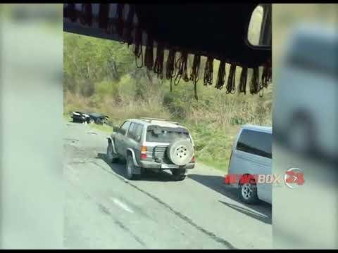 В Приморье из-за ям по дороге в Большой Камень случилась очередная авария