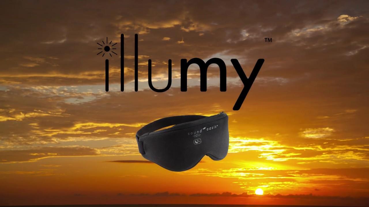 illumy smart sleep mask by Sound Oasis