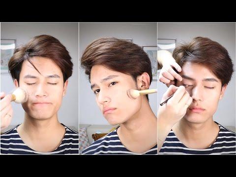 Male K-POP Idol Makeup