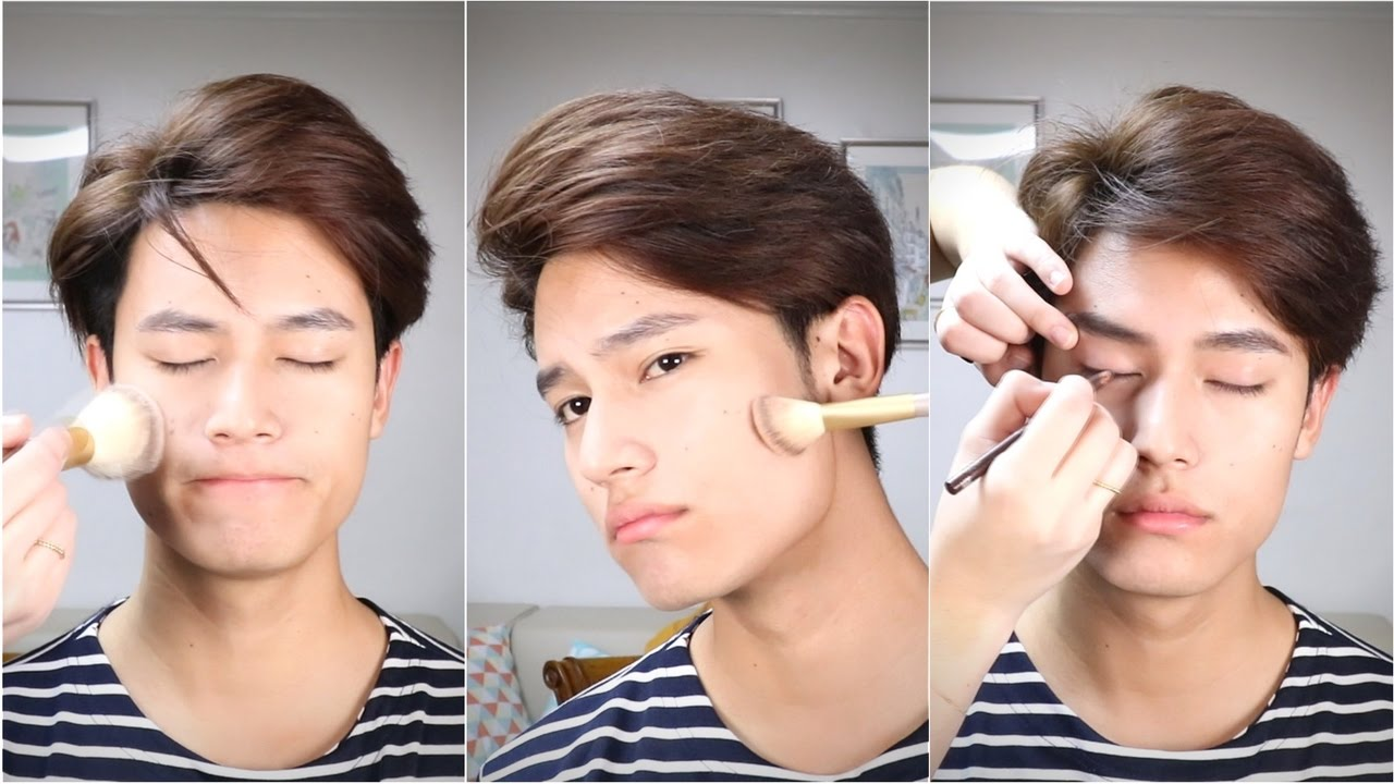 Male K Pop Idol Makeup Youtube