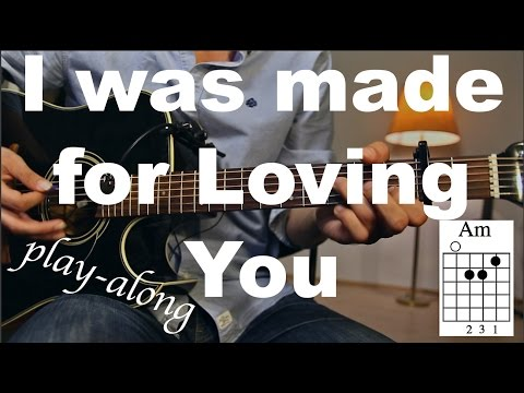 Tori Kelly ft. Ed Sheeran  - I Was Made For Loving You Guitar Lesson/Guitar Tutorial/Guitar Cover