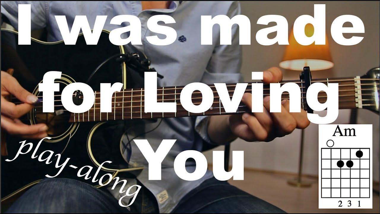 loving you guitar tutorial