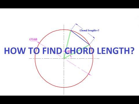 To Find Chord Length_Pipe Rolling calculation_formula