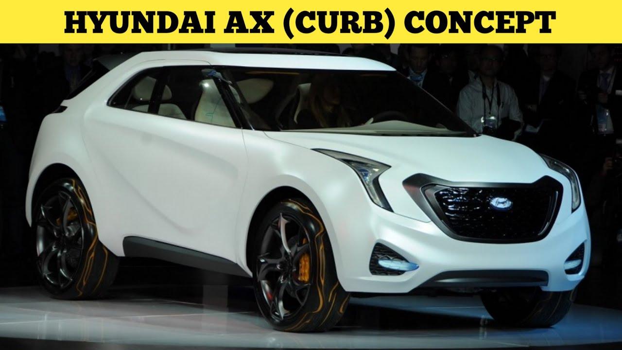 Hyundai Ax Curb Concept Maruti S Presso Rival Suv Youtube