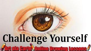Daily Art Challenge  Realistic Eye
