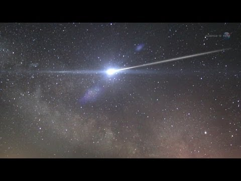ScienceCasts: A Meteor Shower from Halley's Comet