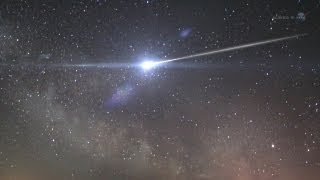 ScienceCasts: A Meteor Shower from Halley