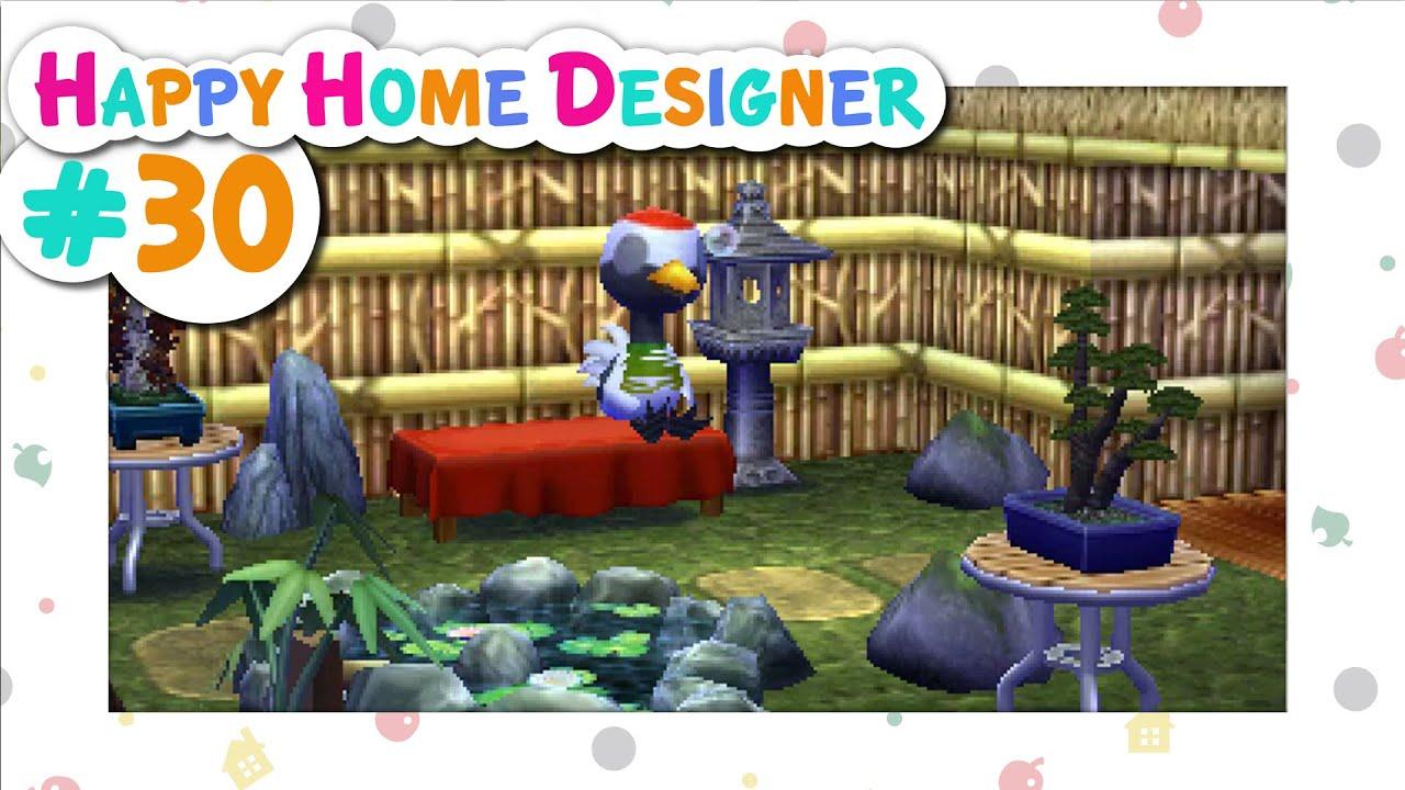 animal crossing happy home designer 30 zen zone youtube