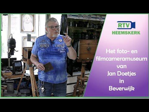 Het foto- en filmcameramuseum van Jan Doetjes in Beverwijk
