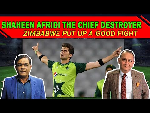 Shaheen Afridi the chief destroyer   Zimbabwe put up a good fight   1st ODI