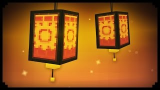 ✔ Minecraft: How to make a Working Paper Lantern