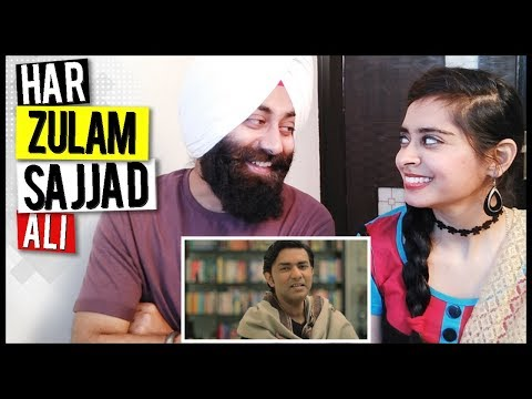 Indian Reaction on Har Zulm Tera Yaad Hai | Sajjad Ali | PunjabiReel TV
