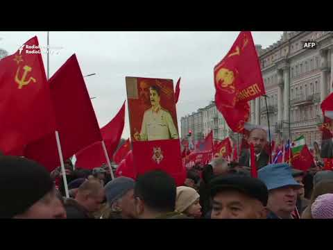 Communists In Moscow Mark Centenary Of Bolshevik Revolution