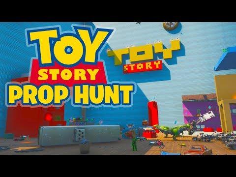 Fortnite Prop Hunt - TOY STORY (Fortnite Creative Code)