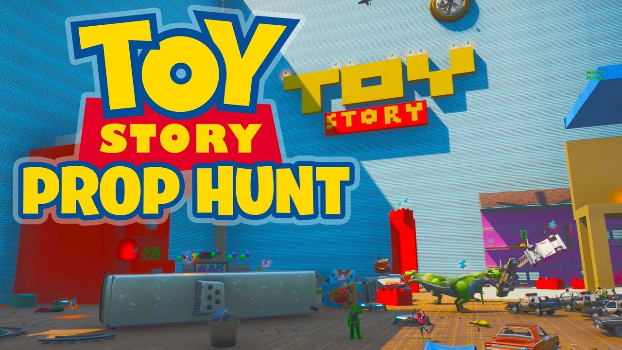 Fortnite Prop Hunt - TOY STORY (Fortnite Creative Code ...