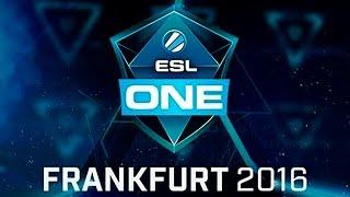 Na`Vi vs Spirit ESL One Frankfurt 2016 EU Qualifier Game 1 bo3