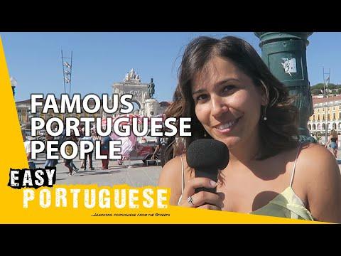 Famous Portuguese people | Easy Portuguese 1