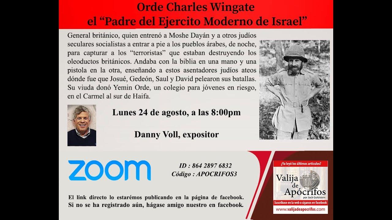 Videoconferencia - Orde Wingate. El padre del moderno ejército de Israel