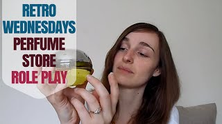 ↬ Retro Wednesdays ↫ Sales Woman Parfume Store Role Play ↭ ASMR Style