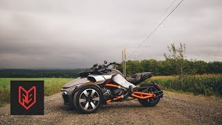 Can-Am Spyder F3-S Review at fortnine.ca