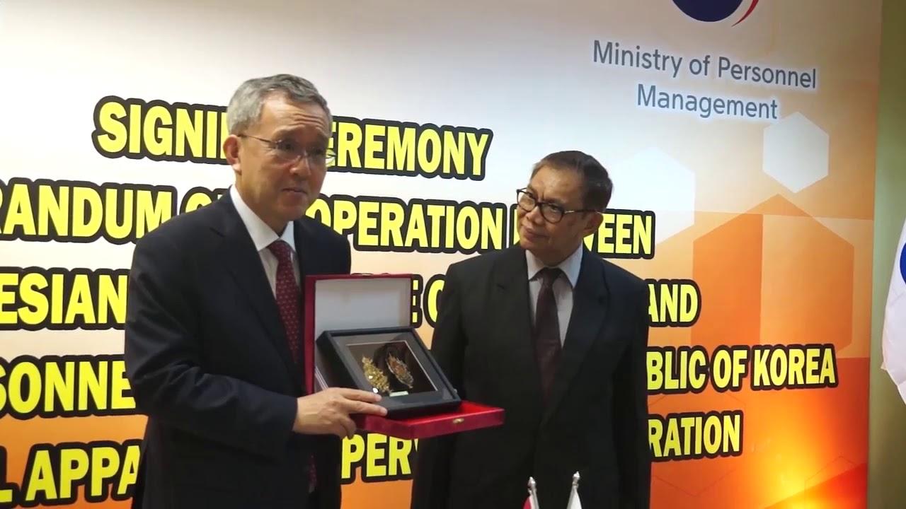 Kerjasama KASN RI dan Korea Selatan