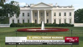 U.S. warns citizens of attacks in South Africa