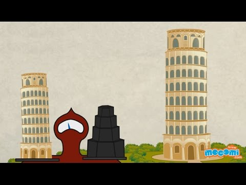 Leaning Tower of Pisa - Fun Fact Series EP19 | Mocomi Kids