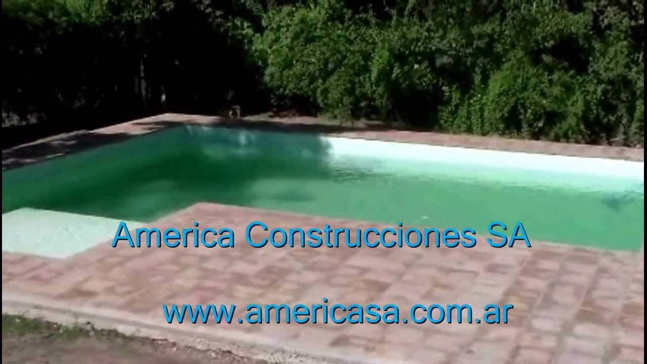 Construcci n de piscinas con hormig n proyectado youtube for Piscinas hormigon proyectado