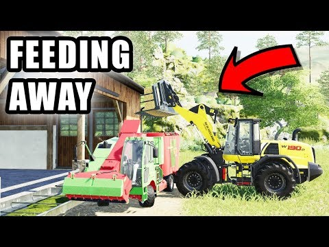 THE FEED MIXER IS BROKE DOWN | TIREDBOG | FARMING SIMULATOR 2017 thumbnail