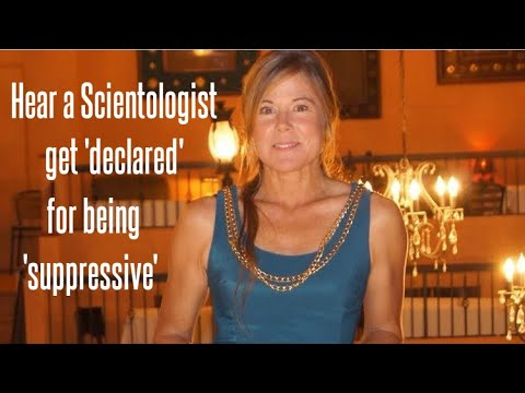 """Hear a Scientologist get 'declared"""" for being 'suppressive'"""