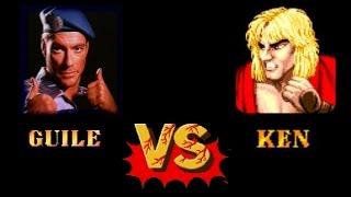 ken vs movie guile