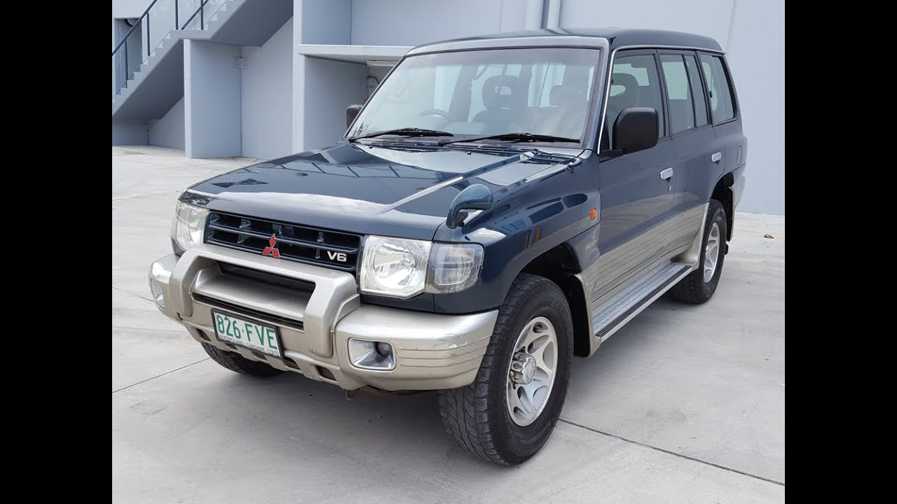 sold 1999 mitsubishi pajero review 4x4 lwb automatic 7 seater wagon for sale youtube. Black Bedroom Furniture Sets. Home Design Ideas