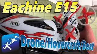 Eachine E015 Unboxing and First Tests, Best Kids Drone 2018?