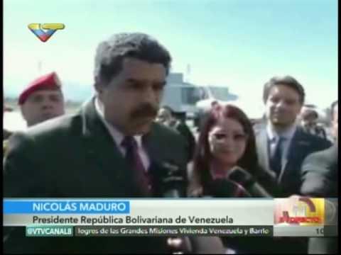 Presidente Maduro arriba a Ecuador para participar en conferencia ONU sobre Hábitat